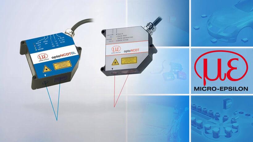 Laser Entfernungsmesser Triangulation : Laser triangulation micro epsilon